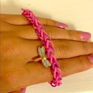 Jewelry - Purple and pink bracelet